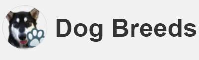 Nomes de cachorros famosos: icone aplicativo dog breeds