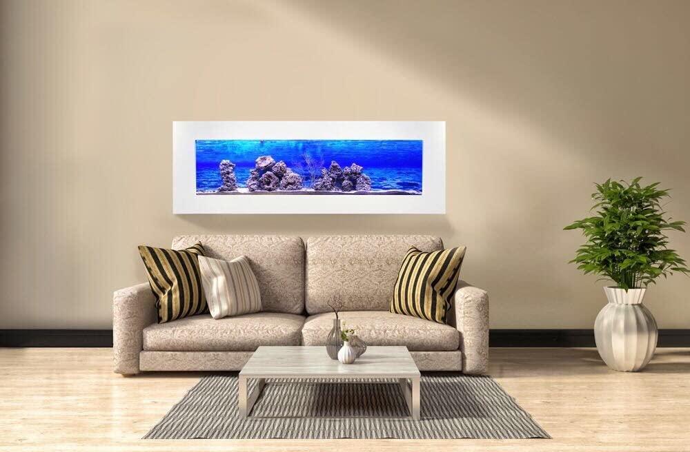 aquario para peixe de parede panoramico - wgrif90