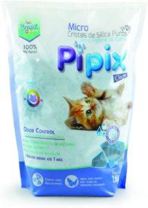 areia para gatos pipix