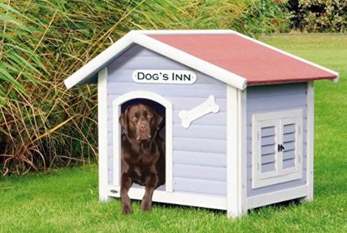 casinha de cachorro tradicional com janela