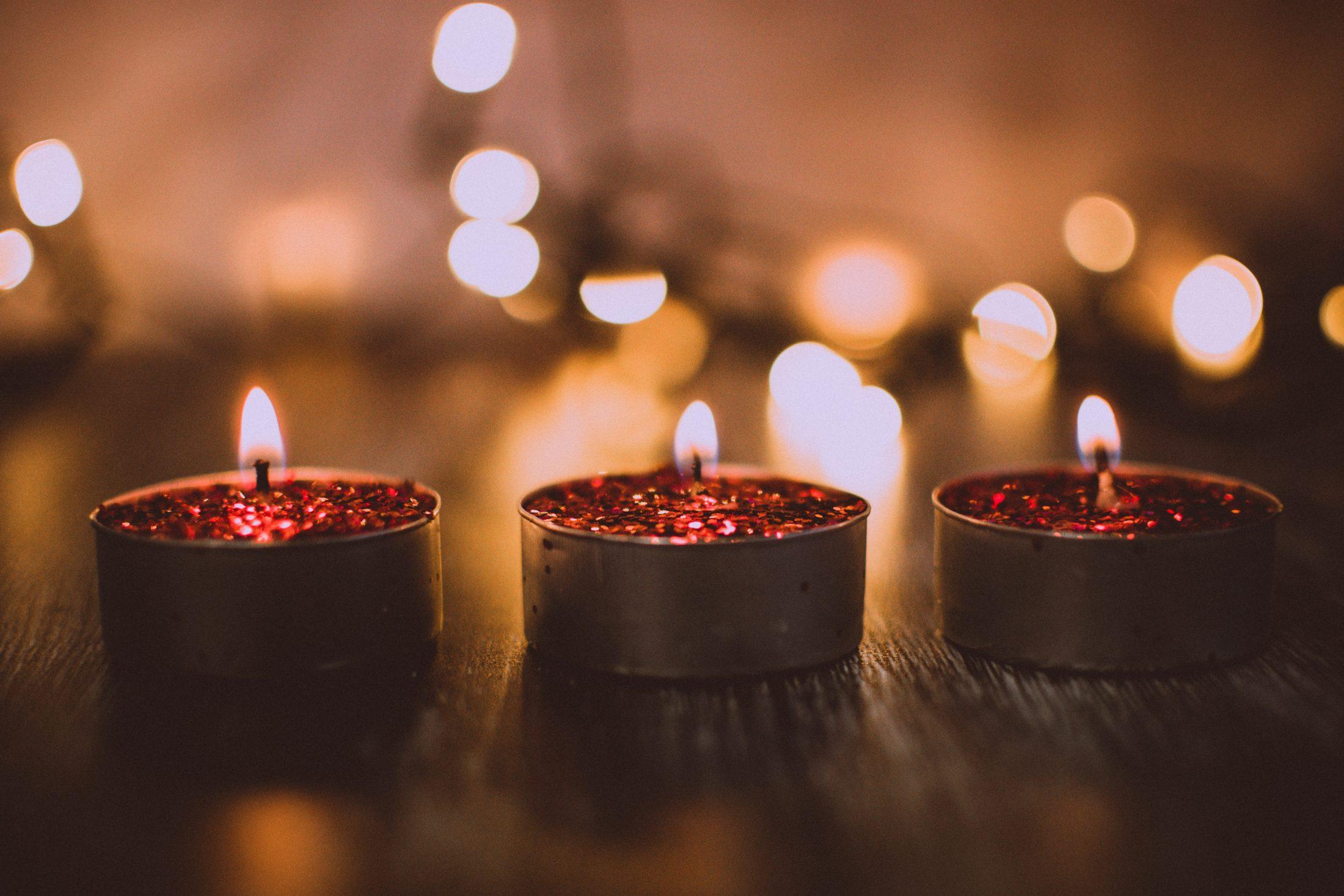 decoracao pet- velas