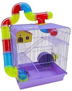 gaiola para hamster - milpet