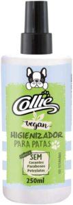 higienizador de patas de cachorro vegano - collie