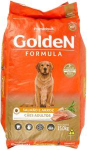ração golden cães adultos