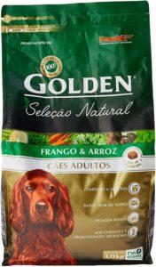 ração golden cães adultos seleção natural