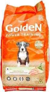 ração golden power training filhotes