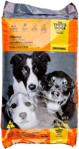 racao para cachorro filhote three dogs