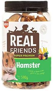 racao para hamster real friends