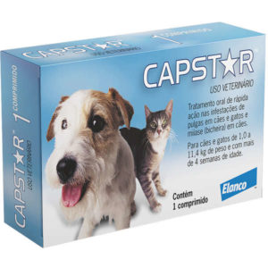 remedio de pulgas para gato Capstar