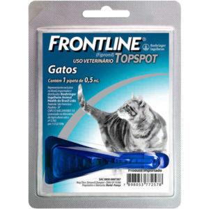 remedio de pulgas para gato_Frontline