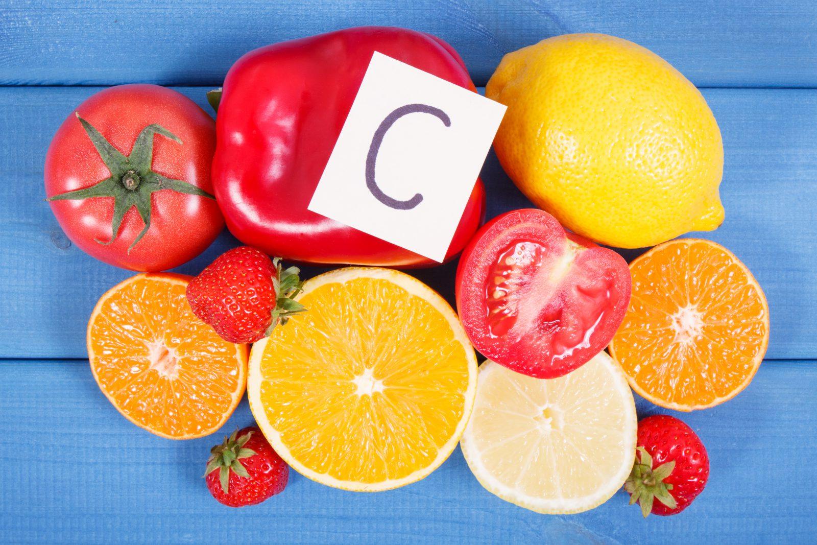 Vitamina para cachorro: Grupo de frutas e leguminosas que contém vitamina C